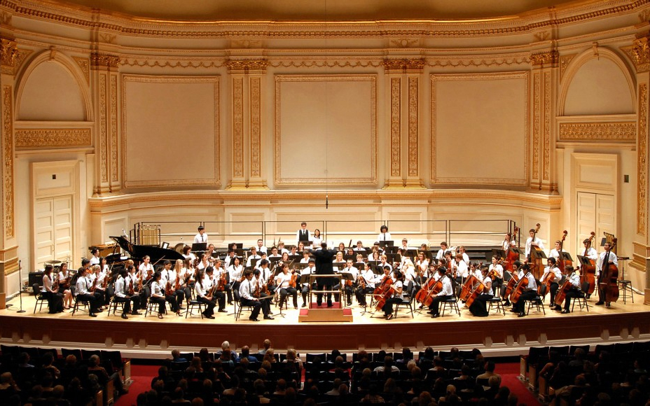 Performance at Carnegie Hall