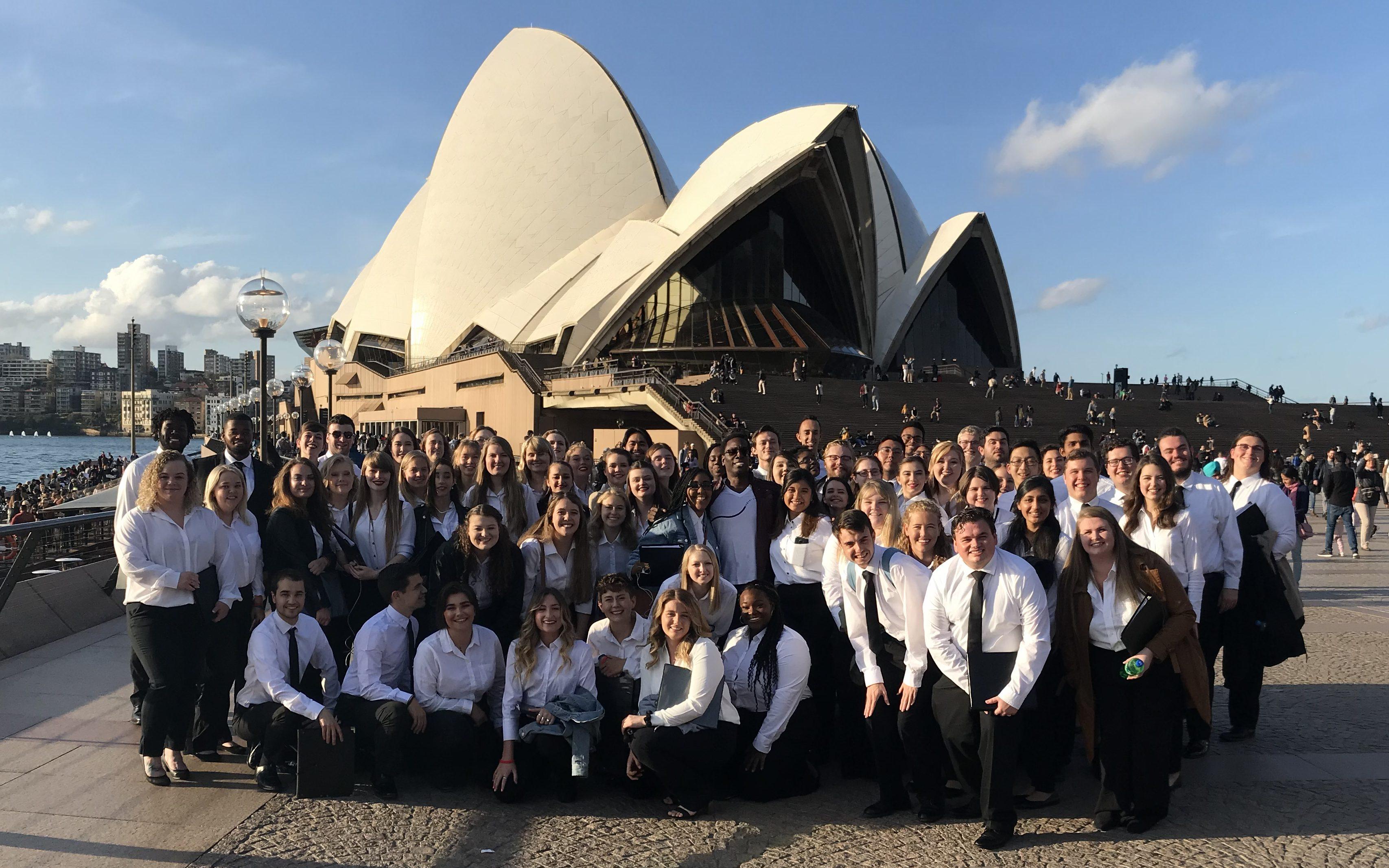 Choir Sydney Opera House Promenade