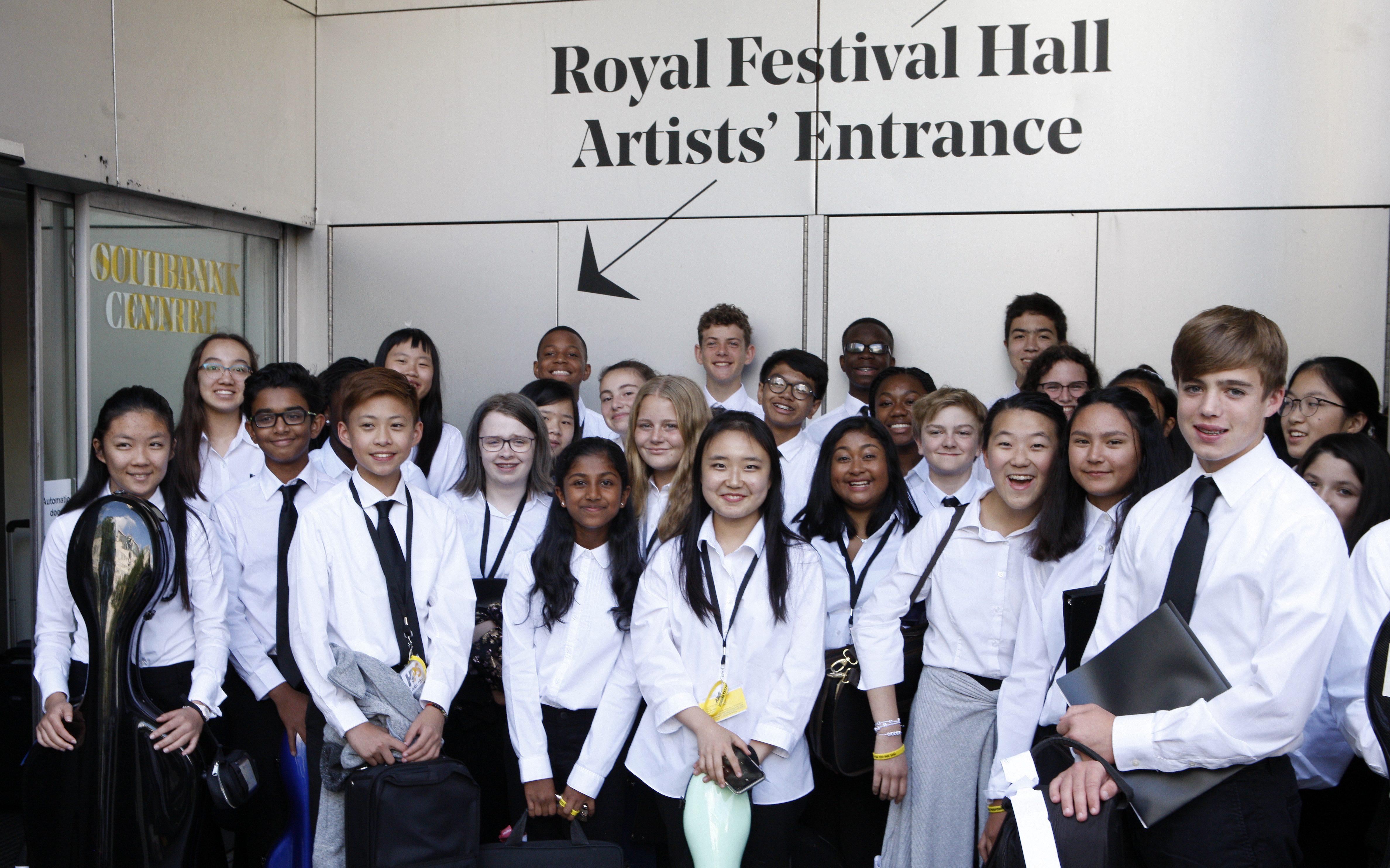 Royal Festival Hall Artists Entrance