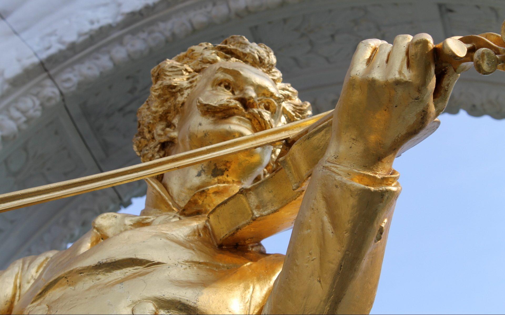 Strauss Statue Vienna