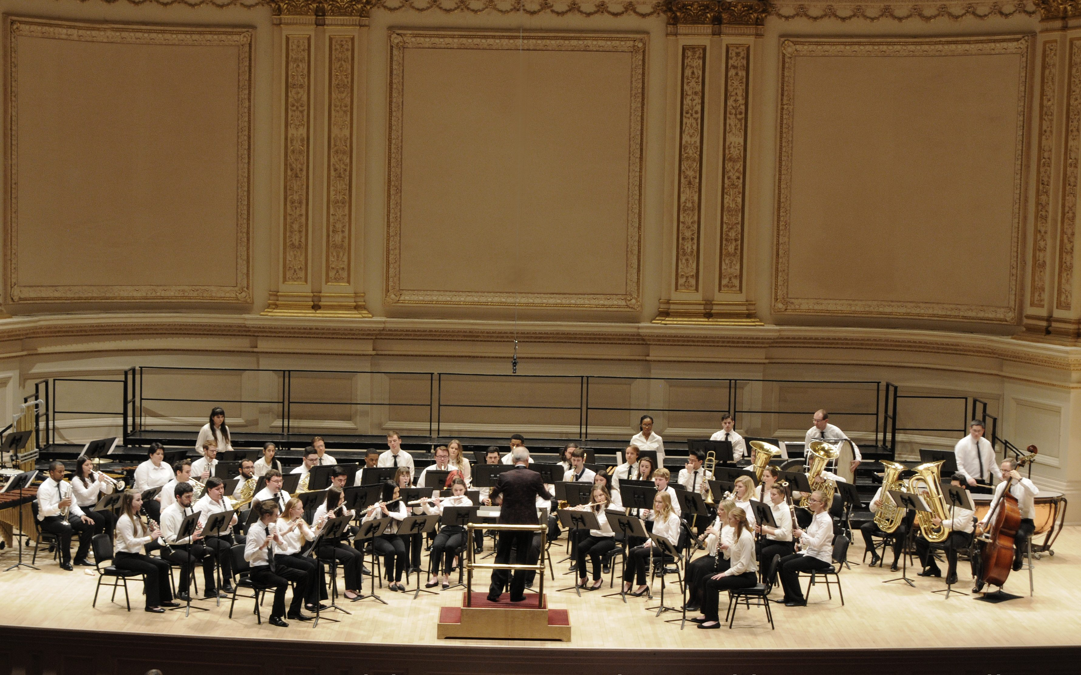 Young Adult Wind Ensemble Carnegie
