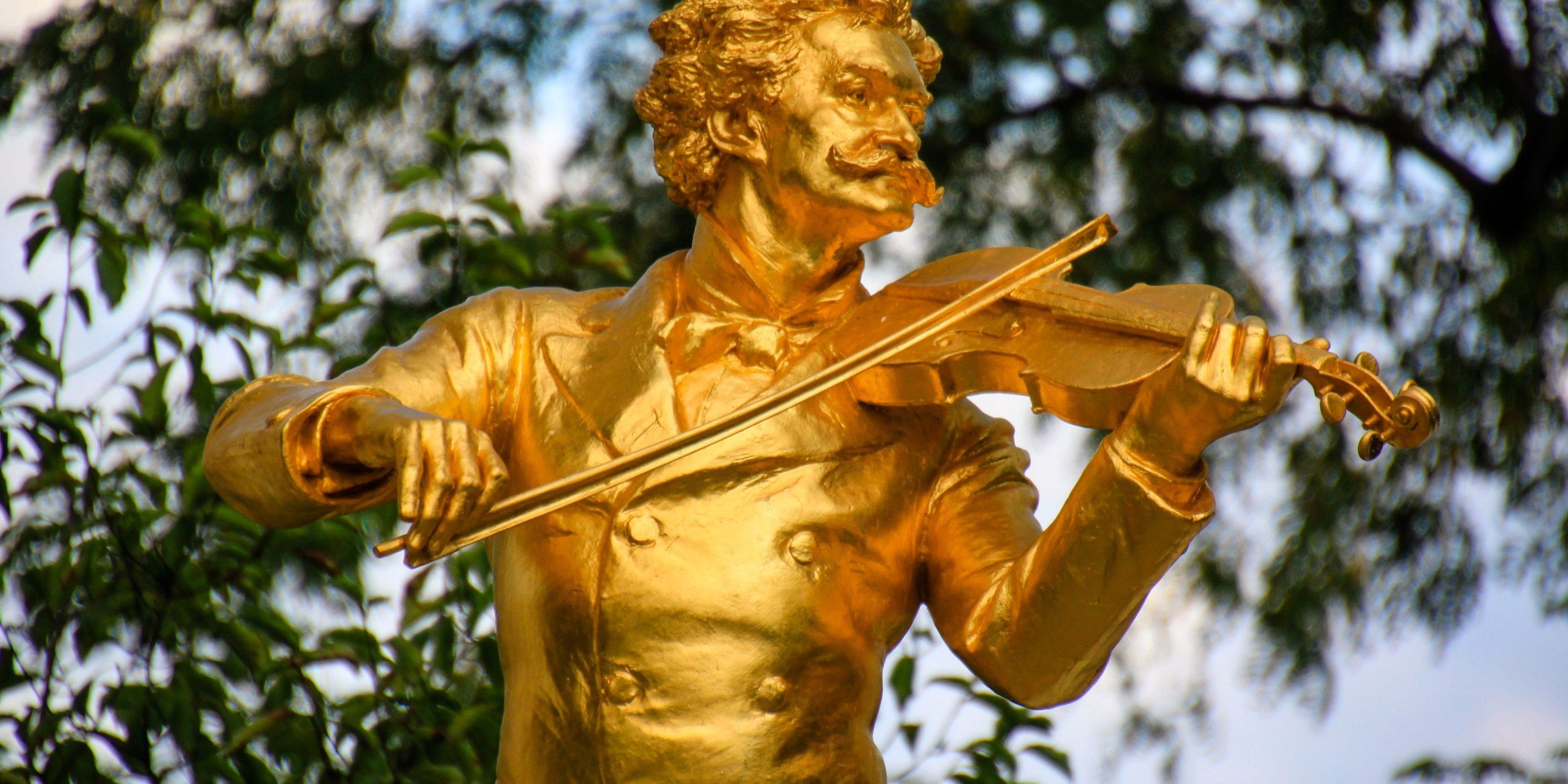 Strauss Monument vienna-1303429